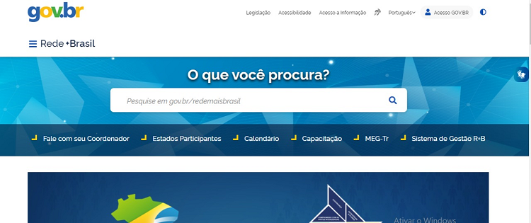 Portal da Rede +BRASIL Reformulado